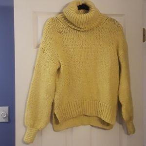 River Island Yellow Sweater Small